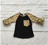 The Jaylee Cheetah Print Raglan Tee