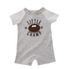 Little Champ Football Raglan Shortalls by Mud Pie