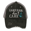 Lake Hair Don't Care Trucker's Cap