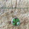 Lucky Me 4 Leaf Clover Shamrock Necklace
