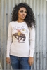 Let'er Go Thermal Tee by Original Cowgirl Clothing Company