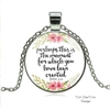 """The Moment for Which You Have Been Created"" Esther 4:14 Necklace"