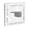 Oklahoma Home Sweet Home Beverage Napkins Set / 3