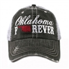 Oklahoma Forever Distressed Trucker Cap