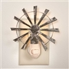 Rustic Windmill Nightlight