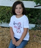 Rodeo for Girls Youth or Toddler Tee