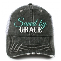 Saved By Grace Trucker Cap