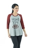 SUNDAYS ARE FOR JESUS AND FOOTBALL Women's Buffalo Plaid Graphic Tee