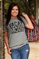 Vacay Mode Tee by ATX Mafia
