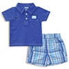 Baby Boy 2 Piece Polo Tee and Short Set