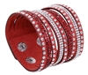 9 In 1 Multi-Strand Red Bracelet