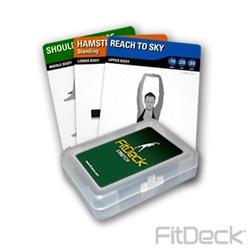 FitDeck Stretching Cards