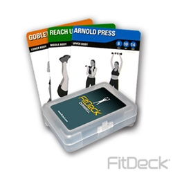 FitDeck Dumbbell Exercise Cards