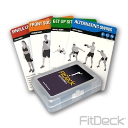 FitDeck Kettlebell Exercise Cards