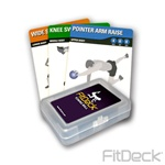 FitDeck Toning Ball Exercise Cards