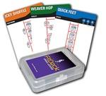 FitDeck Speed Ladder Exercise cards