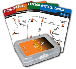 FitDeck Cones Exercise cards