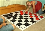 Large Checkers Set