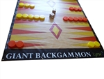 Giant Backgammon Game