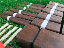 Premium Kubb Tournament Set with Storage Bag
