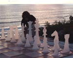 "Giant Acrylic 24"" Chess Set"