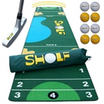 Sholf - The game that combines golf and shuffleboard