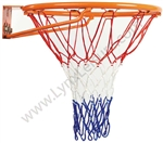 Replacement Tri-Coloured Basketball Net