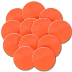 Orange Rubber Spot Set (12)