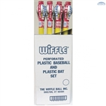 "Wiffle Ball Bat 32"" with Softball Combo - ONE DOZEN"