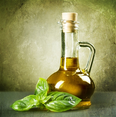 "Basil ""Organic"" Infused Olive Oil"