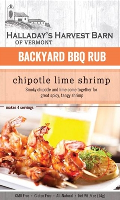 Chipotle Lime Shrimp BBQ Rub