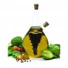 Grape Oil/vinegar Cruet