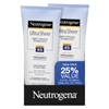 Neutrogena Ultra Sheer Spf#45 Dry Touch Lotion Twin Pack 3oz (10180)<br><br><br>Case Pack Info: 12 Units