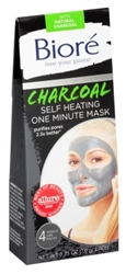 Biore Self Heating One Minute Mask 4 Count (10298)<br><br><br>Case Pack Info: 12 Units