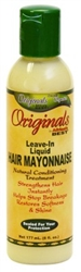 Africas Best Orig Hair Mayo Leave-In 6oz (10430)<br><br><br>Case Pack Info: 12 Units