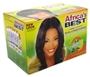 Africas Best Relaxer Regular Dual Cond With Olive Oil Kit (10455)<br><br><br>Case Pack Info: 12 Units