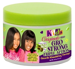 Africas Best Kids Orig Gro Strong Therapy 7.5oz Jar (10586)<br><br><br>Case Pack Info: 12 Units
