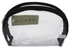 "Sicara Clear Cosmetic Bag Oval Purse (4.75X6X2) (10688)<br><br><span style=""color:#FF0101""><b>Buy 12 or More = $2.30</b></span style><br>Case Pack Info: 72 Units"