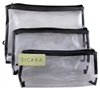 "Sicara Clear Cosmetic Bag 3-Piece Bag Set (10689)<br><br><span style=""color:#FF0101""><b>Buy 12 or More = $4.72</b></span style><br>Case Pack Info: 24 Units"