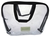 "Sicara Clear Cosmetic Bag Large Carryall Handle (9X12X2) (10694)<br><br><span style=""color:#FF0101""><b>Buy 12 or More = $5.90</b></span style><br>Case Pack Info: 12 Units"