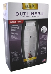 Andis Trimmer Outliner Ii (11105)<br><br><br>Case Pack Info: 12 Units