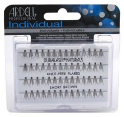 "Ardell Duralash Naturals Flare Short Brown (56 Lashes) (11629)<br><br><span style=""color:#FF0101""><b>Buy 12 or More = $2.00</b></span style><br>Case Pack Info: 72 Units"