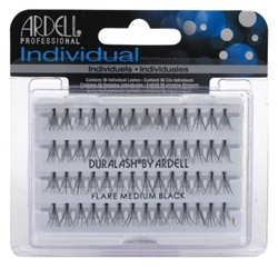 "Ardell Duralash Flare Medium Black (56 Lashes) (11637)<br><br><span style=""color:#FF0101""><b>Buy 12 or More = $2.00</b></span style><br>Case Pack Info: 72 Units"