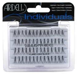 "Ardell Duralash Flare Long Black (56 Lashes) (11638)<br><br><span style=""color:#FF0101""><b>12 or More=Unit Price $2.03</b></span style><br>Case Pack Info: 72 Units"