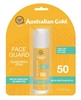 "Australian Gold Spf#50 Face Guard Stick 0.6oz (12185)<br><br><span style=""color:#FF0101""><b>Buy 12 or More = $4.29</b></span style><br>Case Pack Info: 144 Units"