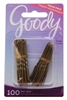Goody #47473 Hair Pins Brown 100 Count (6 Pieces) (12522)<br><br><br>Case Pack Info: 12 Units
