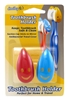 Smiley Toothbrush Holder 2 Count (12 Pieces) Clipstrip (12707)<br><br><br>Case Pack Info: 12 Units
