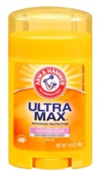 Arm & Hammer Deodorant 1oz Solid Ultra Max Powder(12 Pieces) (13430)<br><br><br>Case Pack Info: 1 Unit
