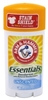 Arm & Hammer Deodorant 2.5oz Essentials Unscented (13447)<br><br><br>Case Pack Info: 12 Units