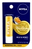 Nivea Lip Care Milk & Honey 0.17oz Carded (6 Pieces) (13598)<br><br><br>Case Pack Info: 8 Units